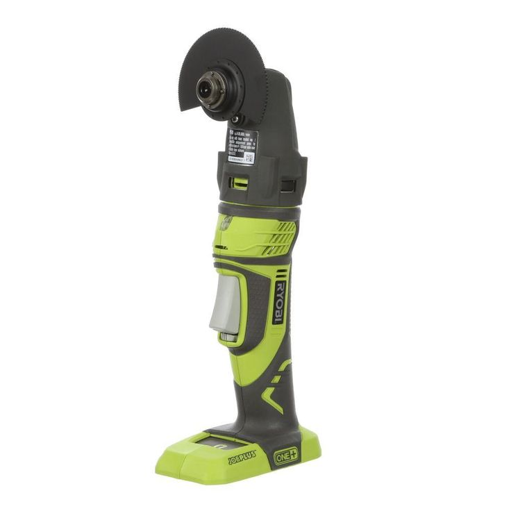 Ryobi ONE  18-Volt JobPlus Base with Multi-tool Attachment (Tool-Only)-P340 - The Home Depot