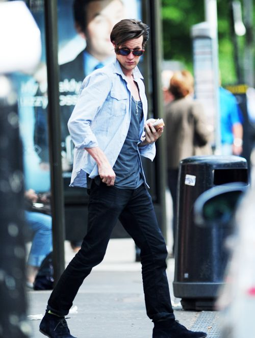 Matt Smith, we see you behind those sunglasses ;)