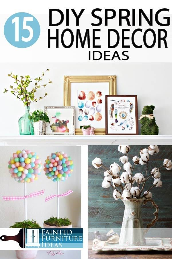 15 Easy Spring Home Decor Crafts To Make Home Decor Spring Home