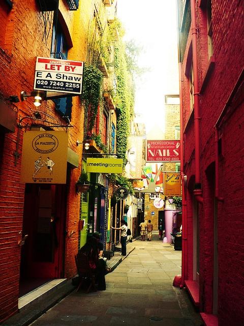 Colorful London, England