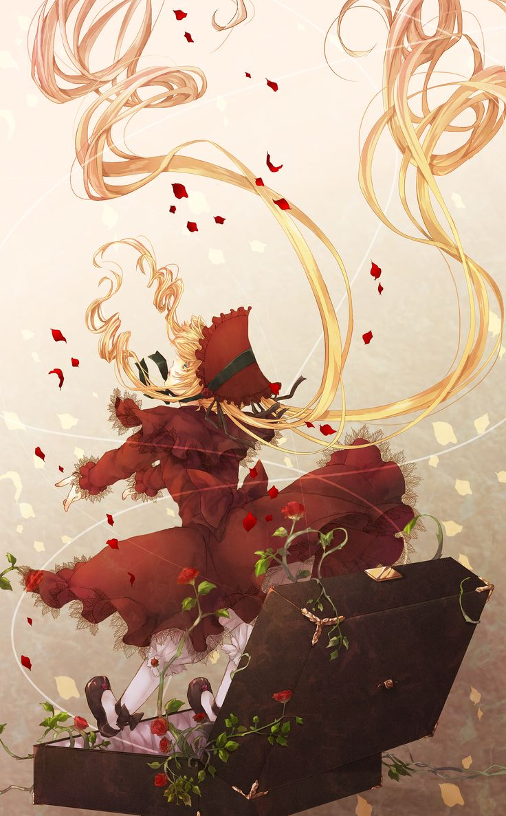 anime: rozen maiden, shinku