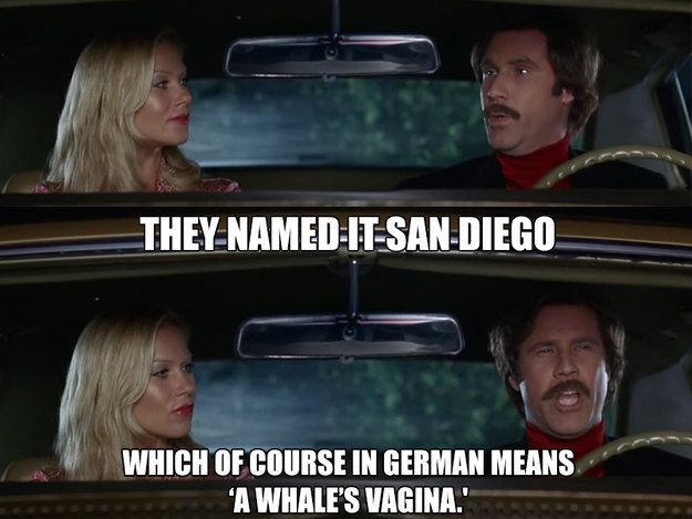 "When someone asks you to tell them what a word means and you have no clue: | 26 Hilarious ""Anchorman"" Quotes That Will Never Get Old"