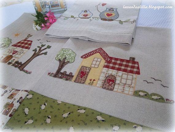 Disegno in formato pdf dellapplicazione su strofinaccio che ho mostrato nel mio blog lavandaelilla.blogspot.com