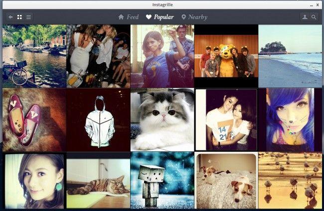 Instagrille, una espectacular aplicación de Instagram para Windows que lleva la red social de fotos a tu escritorio  http://www.genbeta.com/p/70792