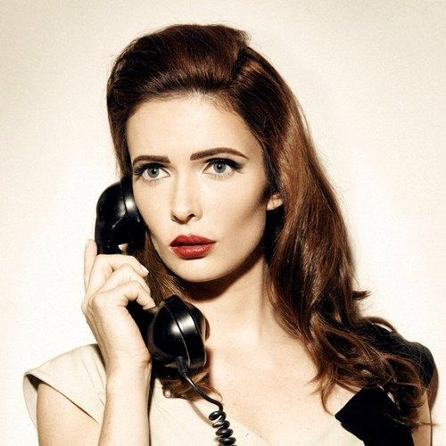 """Bitsie Tulloch of the TV Show """"Grimm"""" on NBC"""