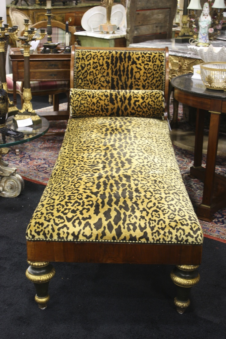 animal print and chaise lounges - 78 Best Antiques: Furniture Art Jewelry  Images On Pinterest - Antique Furniture Miami Antique Furniture