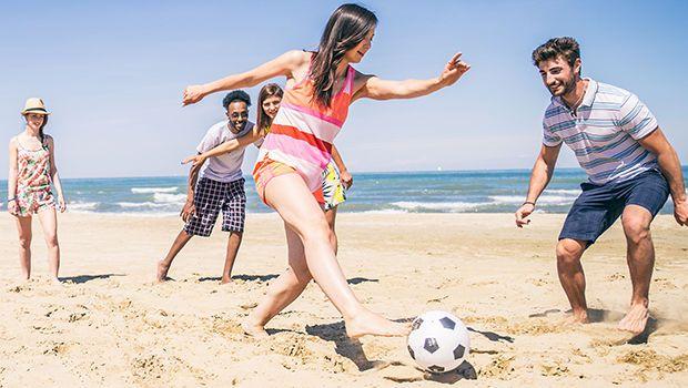 Aktywne wakacje na plaży