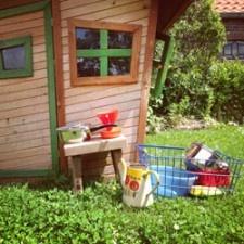 Steentjessoep en egelpoep: de tuin als speelkamer | Babystuf
