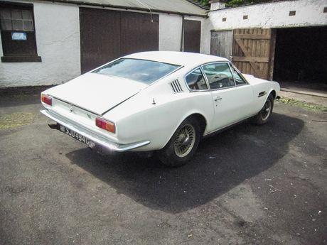 1969 Aston Martin DBS Barn Find - Silverstone Auctions