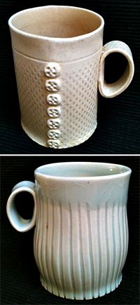 Blog post about slab built mugs  From The Mud Room