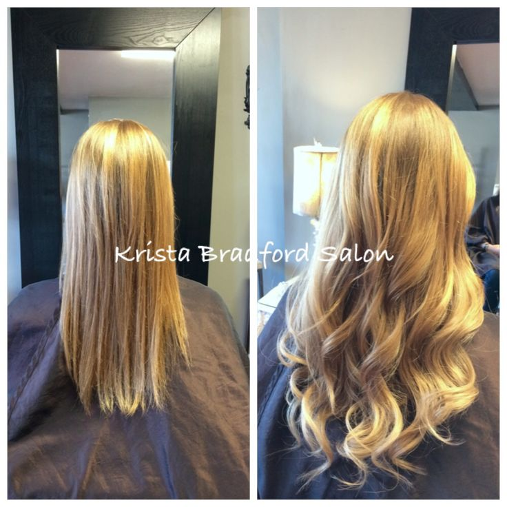 22 best hair extensions images on pinterest chicago hair salons strawberry blonde ombr hair extensions before after chicago hair extensions krista bradford salon pmusecretfo Image collections