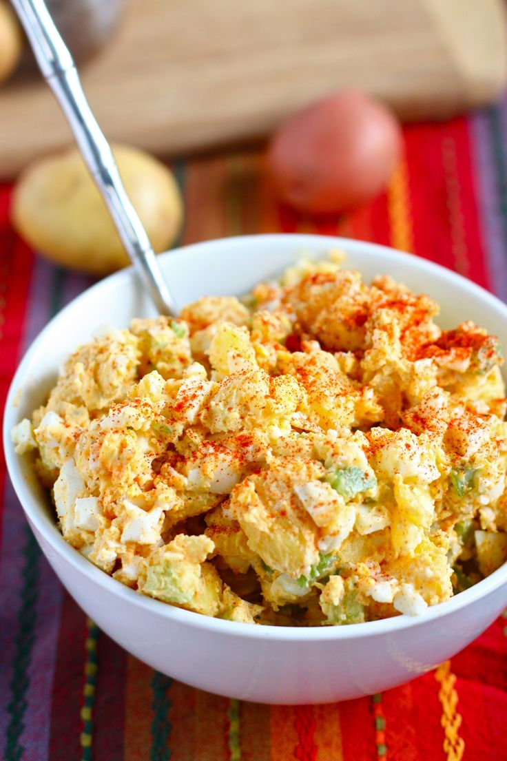 Old Fashioned Potato Salad - reminds me of my childhood!