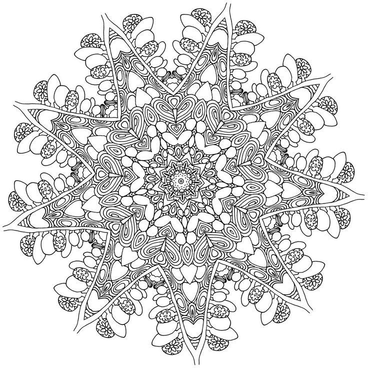 Coloring book Dream with Mandalas Design 11-22