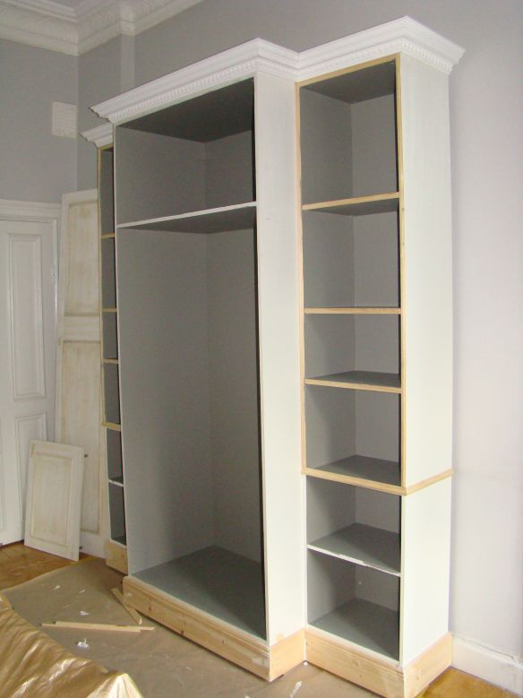 17 best ideas about bedroom cupboards on pinterest shoe cupboard shoe cabi - Tringle armoire ikea ...