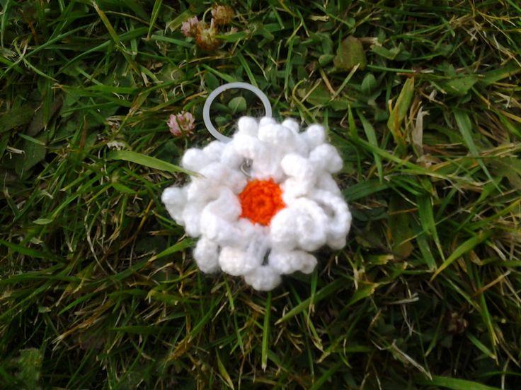 Flor llavero