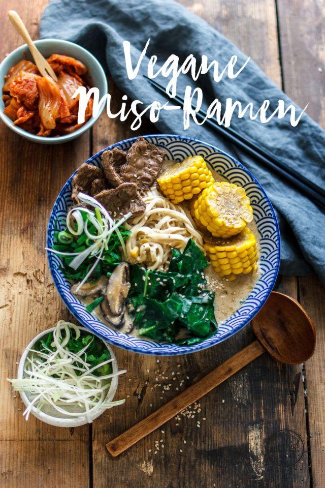 Miso-Ramen mit Mais