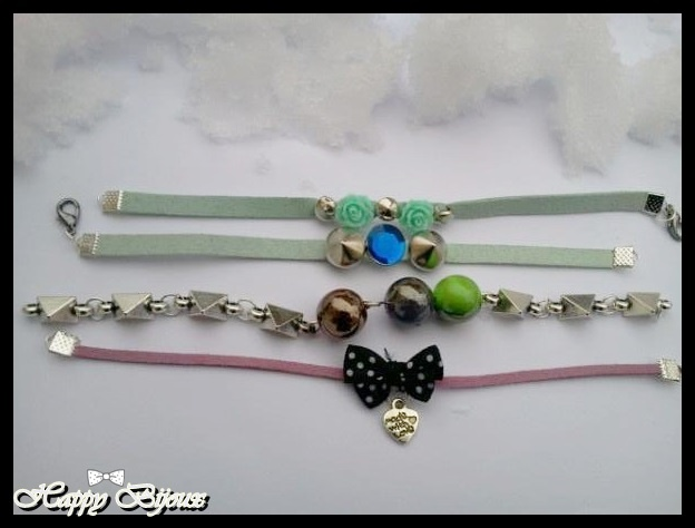 www.facebook.com/happy.bijoux  #rock and roses collection #