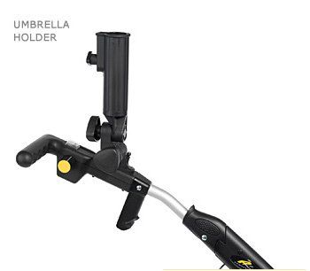 From 13.99:Deluxe Umbrella Holder For Powakaddy Freeway Golf Trolleys.  Fits Classic Classic Legend Freeway Mark 1 (not Mark 2 Or Sport) And Powakaddy Highway Electric Golf Trolleys. Also Suitable For Energy / Lucas Electric Golf Trolleys