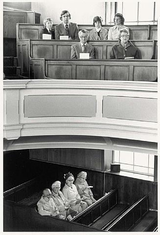 Martin Parr | Steep Lane Baptist Chapel, Yorkshire, 1978
