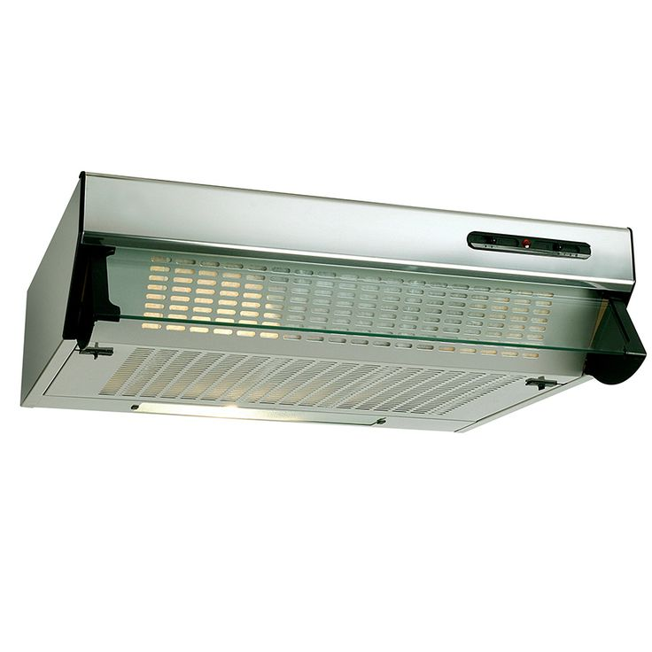 Beko HBV60X Visor Cooker Hood - Stainless Steel  Great for sucking up airborne grease and steam while you're cooking, this integrated cooker hood makes your kitchen a cleaner and healthier place for your family to be.  #cookerhoods #visorhood #kitchen
