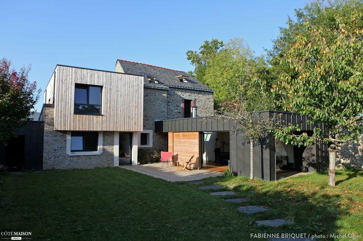 Extension et surélévation d'une maison, Fabienne Briquet - Côté Maison