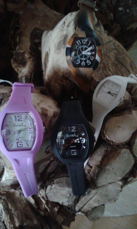 orologi in silicone vari colori e misure