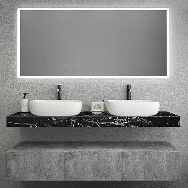 Modern 48 In 2020 Floating Bathroom Vanities Double Sink Vanity Floating Bathroom Sink