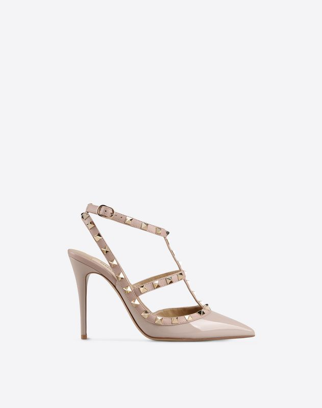 Discover the details of the product Rockstud Ankle Strap for Women. Find  out all the information at Valentino Online Boutique and shop designer  icons to ...