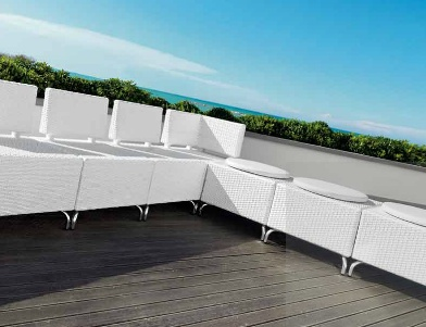 wicker modula furniture