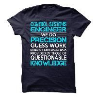 Awesome Shirt For Control Systems Engineer