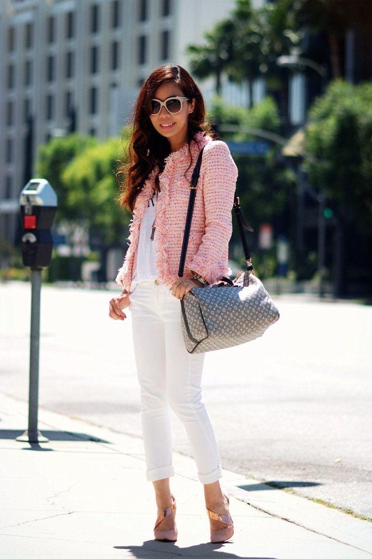 бледно розовый пиджак с джинсами фото распространенным мифам, американцы