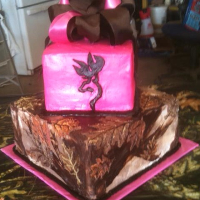 43 best Browningdeercamo cakes images on Pinterest Conch