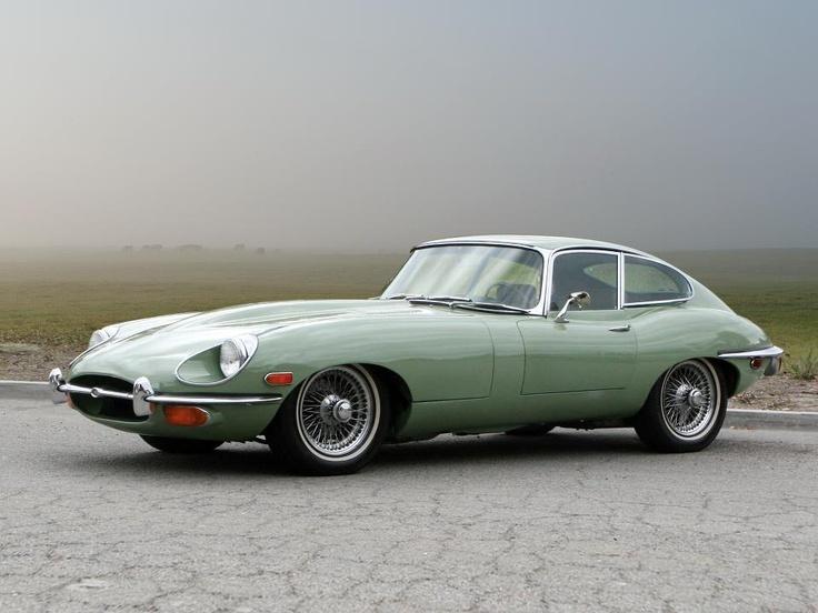 43 best CARACTERSJaguar EType Coupe images on Pinterest  Jaguar