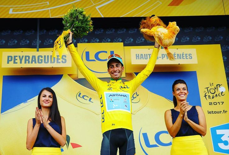 """301 mentions J'aime, 1 commentaires - Luca Bettini (@lucabettini87) sur Instagram: """"@fabioaru1 takes for the #1st time the #yellowjersey in the 12th stage of @letourdefrance 2017…"""""""