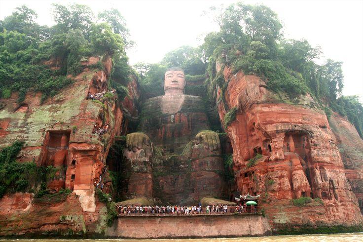 The Leshan Giant Buddha - China