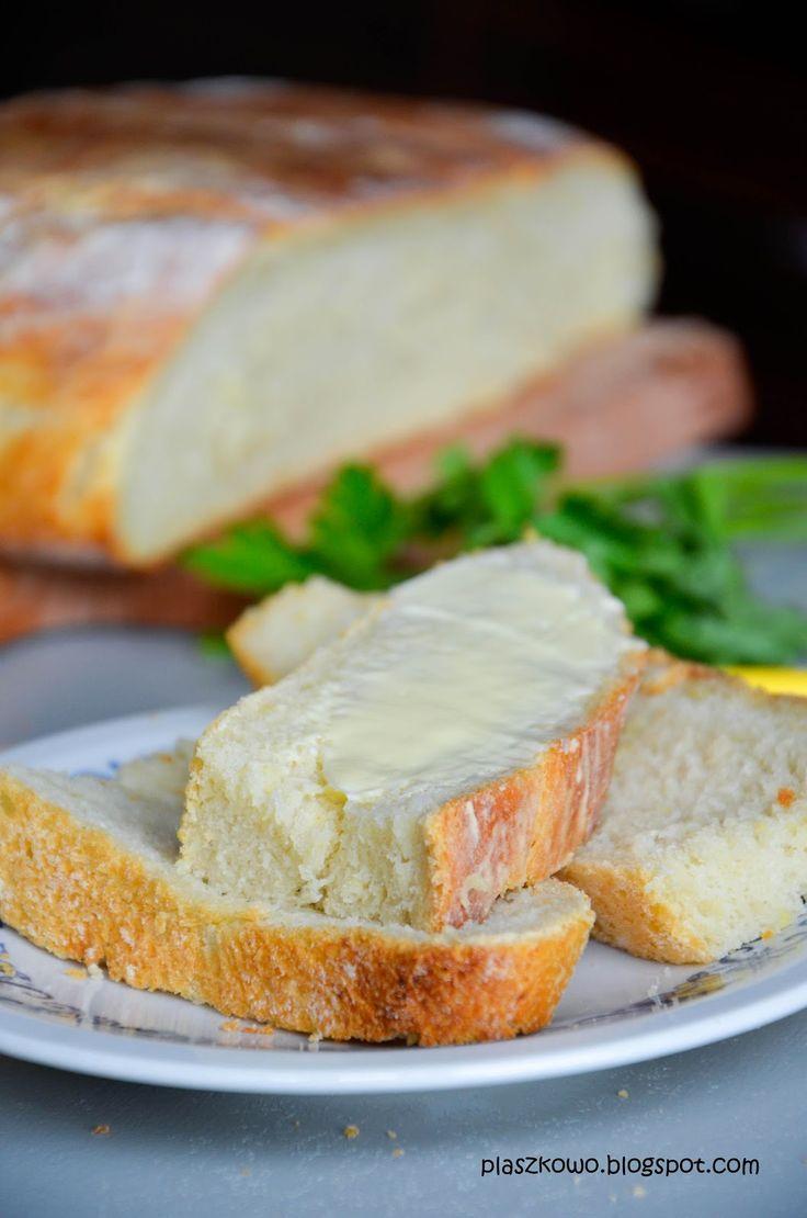 płaszkowo: chleb pszenno-ziemniaczany