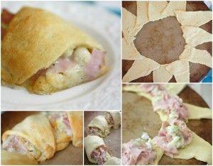 Recipe: Turkey, Ham & Cheese Roll via @Jen (Balancing Beauty and Bedlam/Ten Minute Dinners blogs)
