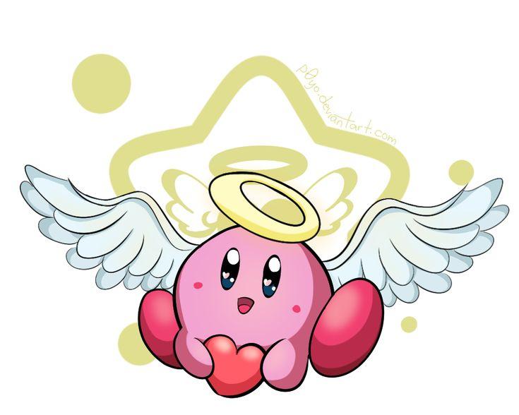 Cupid Kirby! by p0Yo