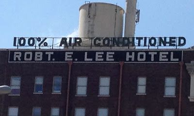100% AIR CONDITIONED - Robert E. Lee Hotel - downtown San Antonio, Texas