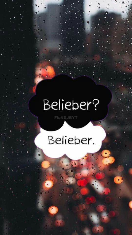 Are u a a belieber??......yessss....believer forever..♡♡
