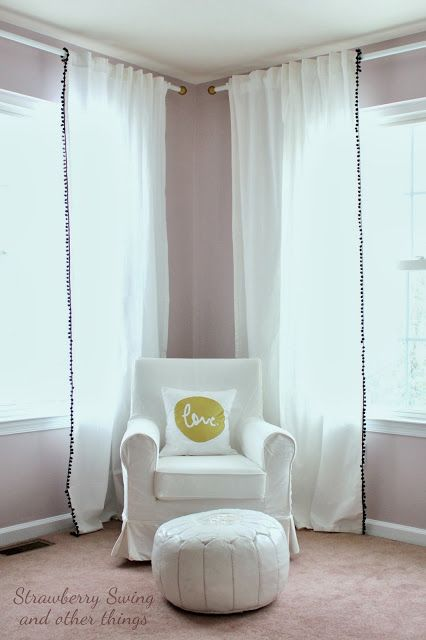 Vaguely Mauve by Sherwin Williams | Strawberry Swing and other things: [Little Room #2] Kenley Drew's Nursery Tour