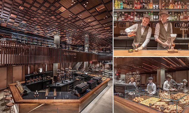 See Inside The Brand New And Huge Starbucks Reserve