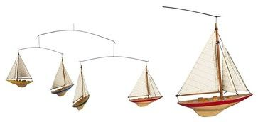 Authentic Models A-Cup Mobile Decor traditional-baby-mobiles