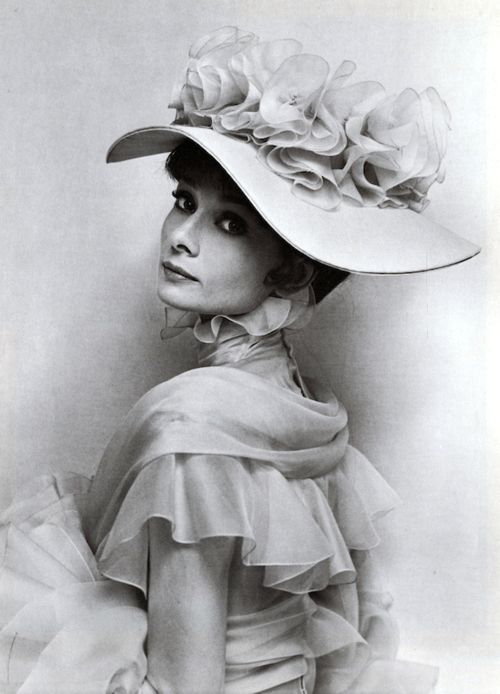 Audrey Hepburn as Eliza Doolittle. One of my favorite movies. Love that my parents raised me on the classics and musicals.