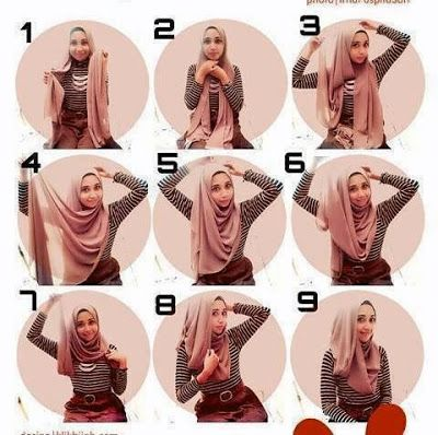Tutorial Jilbab Modis Nan Syar'i | My World