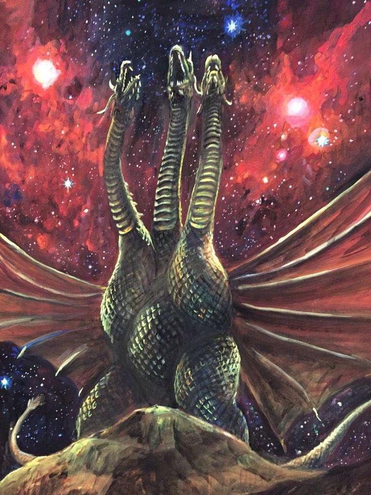 293 best king ghidorah images on pinterest monsters the
