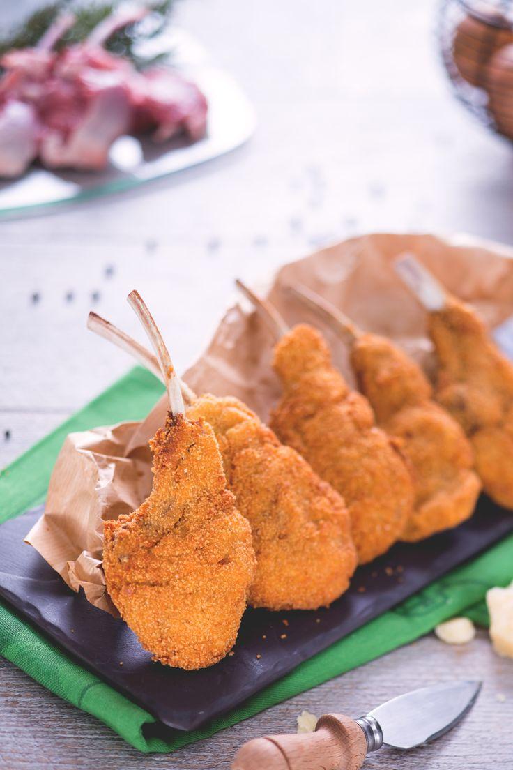 Costolette d'agnello fritte: croccanti e gustose, conquisteranno tutti!   [Fried lamb chops]