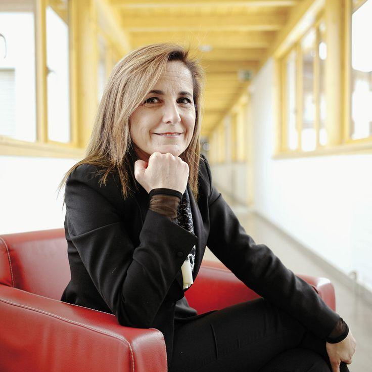"""Les métiers du luxe ont le vent en poupe. Sonia Tatar, Ecole Hotelière des Roches. """"Les professionnels trouvent que nos étudiants sortent avec l'esprit qu'ils recherchent."""" © Sedrik Nemeth"""
