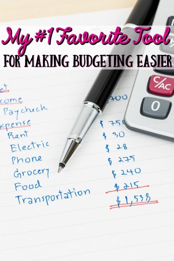 Budgeting shouldn't be hard and complicated and your budgeting software shouldn't be expensive and bulky! Let me show you my favorite tool to make budgeting your personal budget easier!