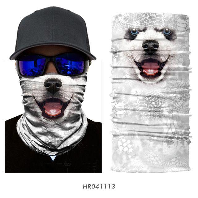 Magic Headwear Puppy Outdoor Scarf Headbands Bandana Mask Neck Gaiter Head Wrap Mask Sweatband